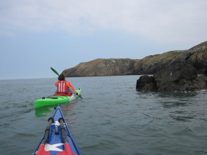 BCU Three Star Sea Kayak Training