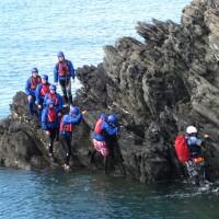 coasteering rhoscolyn