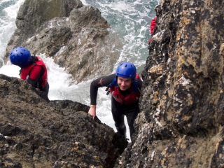 Coasteering Rhoscolyn