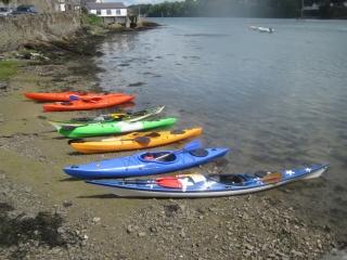 Sea kayaks Porth Llechog