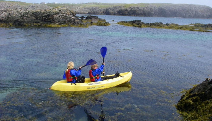 Photo of example of the type of kayak available for hire