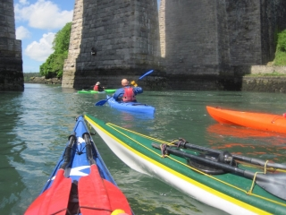 Sea Kayaking Menai Bridge