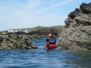 3 star sea kayaking course, Rhoscolyn