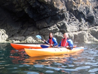 Sea Kayaking Rhoscolyn Head